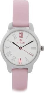 Titan Youth NF2481SL01 Analog White Dial Women's Watch (NF2481SL01)