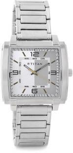 Titan Youth NF1586SM01 Analog White Dial Men's Watch (NF1586SM01)