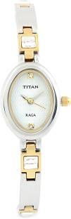 Titan Raga NF9717BM01 Analog White Dial Women's Watch (NF9717BM01)