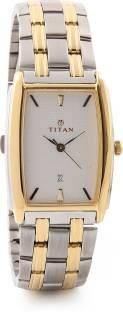 Titan Regalia NH1163BM01 Analog Silver Dial Men's Watch (NH1163BM01)