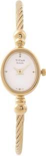 Titan Raga NF197YM04 Analog White Dial Women's Watch (NF197YM04)