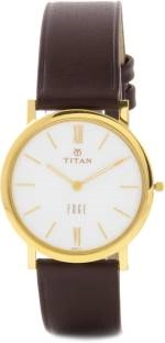 Titan Edge NH679YL01 Analog White Dial Men's Watch (NH679YL01)