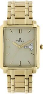 Titan Regalia NH1506YM02 Analog Beige Dial Men's Watch (NH1506YM02)