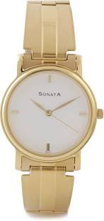 Sonata NF1013YM23 Classic Analog White Dial Men's Watch (NF1013YM23)