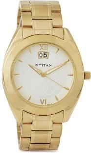 Titan Regalia NH1557YM02 Analog Silver Dial Men's Watch (NH1557YM02)