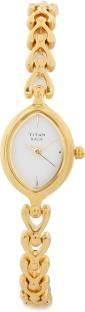 Titan Raga NE2370YM01 Analog White Dial Women's Watch (NE2370YM01)