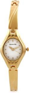 Sonata NG8951YM01 Analog White Dial Women's Watch (NG8951YM01)