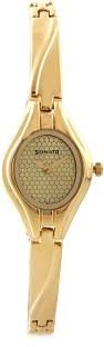 Sonata NG8951YM02 Analog Gold Dial Women's Watch (NG8951YM02)