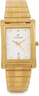 Titan Karishma NH9154YM01 Analog White Dial Men's Watch (NH9154YM01)
