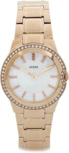 Guess W0110L1 White Dial Analog Women's Watch (W0110L1)
