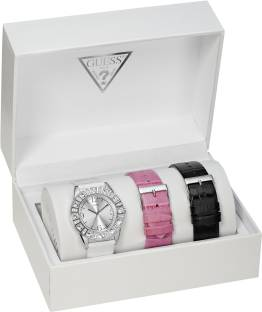 Guess I95263L1 Silver Dial Analog Women's Watch (I95263L1)