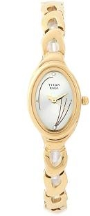 Titan Raga NH2435YM02 Analog Champagne Dial Women's Watch (NH2435YM02)