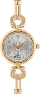 Titan Raga NH311WM01 Analog Silver Dial Women's Watch (NH311WM01)