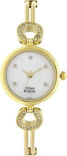 Titan NH311YM10 Mother Of Pearl Dial Analogue Women's Watch (NH311YM10)