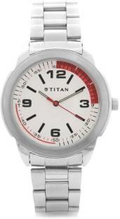 Titan Youth NF1585SM01 Analog White Dial Men's Watch (NF1585SM01)