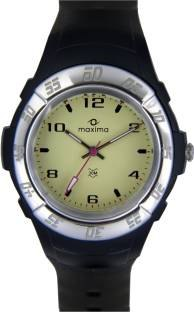 Maxima 23230PPGN Analog White Dial Men's Watch (23230PPGN)