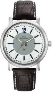 Maxima 24230LMGI Attivo Analog White Dial Men's Watch (24230LMGI)