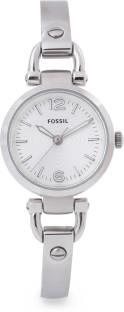 Fossil ES3269 Georgia Analog Silver Dial Women's Watch (ES3269)