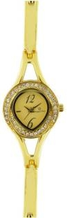 Maxima 24381BMLY Analog Gold Dial Women's Watch (24381BMLY)