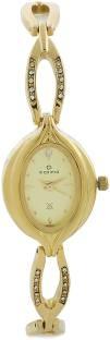 Maxima 21102BMLY Formal Gold Analog Women's Watch