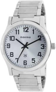Maxima 20894CMGI Attivo Analog White Dial Men's Watch (20894CMGI)