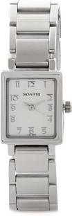 Sonata NF8080SM02C Wedding Analog White Dial Women's Watch (NF8080SM02C)