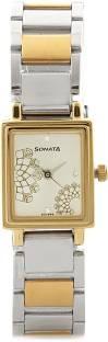 Sonata NG8080BM01C Wedding Analog Silver Dial Women's Watch (NG8080BM01C)