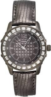 Guess W0019L2 Gunmetal Toned Analog Women's Watch (W0019L2)