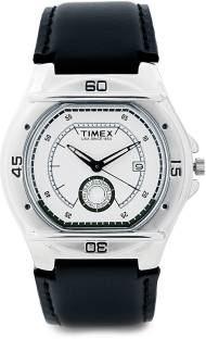 Timex EL00 Fashion Analog Silver Dial Men's Watch (EL00)
