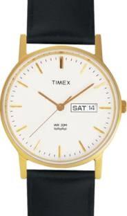 Timex A500 Quartz White Round Men's Watch