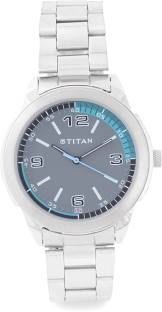 Titan Youth NF1585SM03 Analog Grey Dial Men's Watch (NF1585SM03)