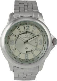 Maxima 24113CMGI Analog Silver Dial Men's Watch (24113CMGI)