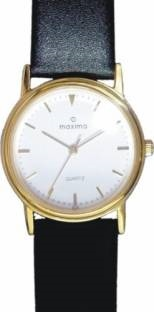 Maxima 05172LMGY Analog White Dial Men's Watch (05172LMGY)