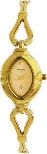 Maxima 07177BMLY Analog Gold Dial Women's Watch