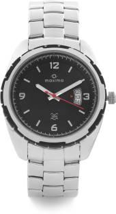 Maxima 26650CMGI Attivo Black Dial Analog Watch (26650CMGI)