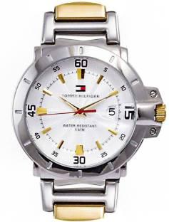 Tommy Hilfiger NATH1790514J White Dial Analog Men's Watch (NATH1790514J)