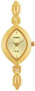 Timex LS02 Classics Analog Gold Dial Women's Watch (LS02)