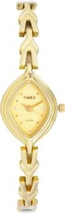 Timex LS05 Classics Analog Gold Dial Women's Watch (LS05)