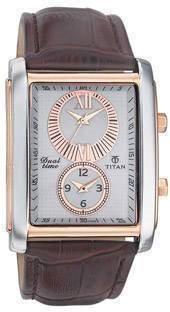 Titan N9309KL01 Classique Analog White Dial Men's Watch (N9309KL01)
