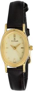 Titan Karishma NF2061YL02 Analog Gold Dial Women's Watch (NF2061YL02)