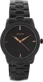 Sonata NF7924NM01C Analog Black Dial Men's Watch (NF7924NM01C)
