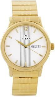 Titan Karishma BH1580YM04 Analog Silver Dial Men's Watch (BH1580YM04)