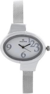 Maxima 25217CMLI Attivo Analog White Dial Women's Watch (25217CMLI)