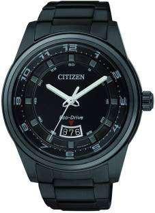 Citizen Eco-Drive AW1284-51E Analog Black Dial Men's Watch (AW1284-51E)