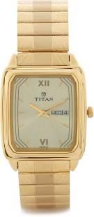 Titan Karishma NH1581YM05 Analog Gold Dial Men's Watch (NH1581YM05)