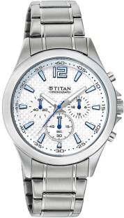 Titan Octane NE9323SM07J Chronograph Grey Dial Men's Watch (NE9323SM07J)