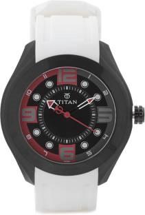 Titan Purple 9475NP02J Analog Multi Color Dial Men's Watch (9475NP02J)