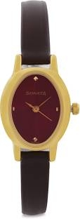 Sonata 8100YL03C Analog Red Dial Women's Watch (8100YL03C)