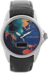 Giordano 1468-01 Printed Dial Analog Men's Watch