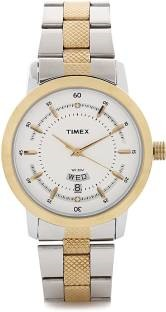 Timex G910 Classics Analog Silver Dial Men's Watch (G910)